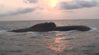 INS Chakra - Indian Navy Akula II SSN nuclear submarine