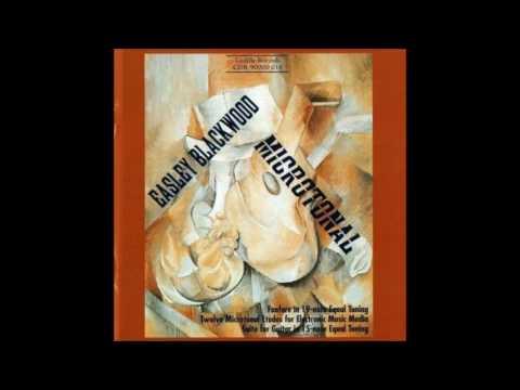 Easley Blackwood - Microtonal Compositions