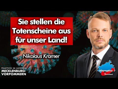 Nikolaus Kramer: Sie stellen die Totenscheine aus für unser Land!