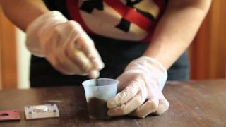 How to make the DIY Concrete House Ring
