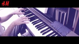 Lana Del Rey - Blue Velvet (piano cover by @andrixbest w/ chords)