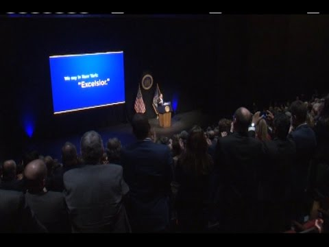Governor Cuomo Delivers his 2017 State of the State Address in Albany