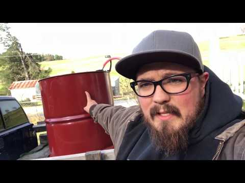 DIY method for home fuel oil delivery