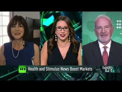 Stimulus and Trump's Health Moving Markets