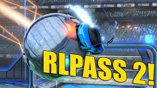 ROCKET PASS 2 = 10 KLUCZY? - Rocket League z RANDOMAMI |2vs2|