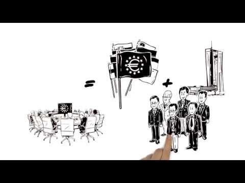 De ECB en het Eurosysteem in drie minuten uitgelegd