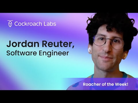 Roacher of the Week: Jordan Reuter (they/them), Software Engineer