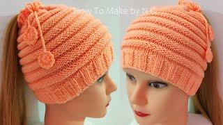 easy cap kaise banay #topi ka design #woolen cap #ladies scarf #cap #örme şapkalar #գլխարկ#girls cap