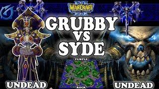 Grubby   Warcraft 3 TFT   1.30   UD v UD on Turtle Rock - GRUBBY vs SYDE