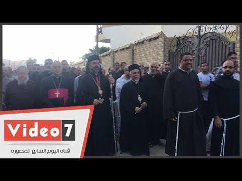 سفير الفاتيكان وبطريرك الكاثوليك يقودان مسيرة -مسار العائلة المقدسة-