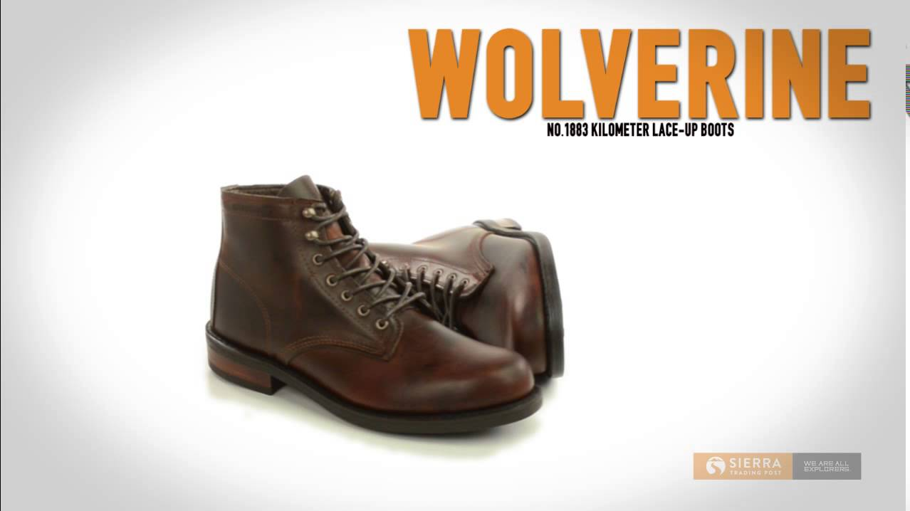 2e3bc657f5e Wolverine No. 1883 Kilometer Lace-Up Boots - Factory 2nds