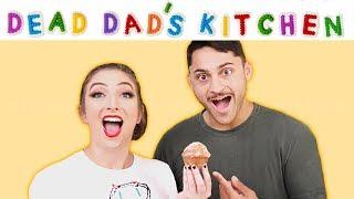 Dead Dad's Kitchen   Donut Muffins w/ Geoffrey James!