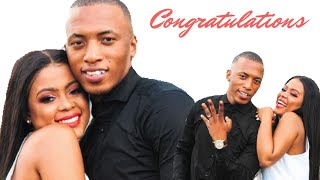 Congratulations to Dumi Mkokstad and his wife