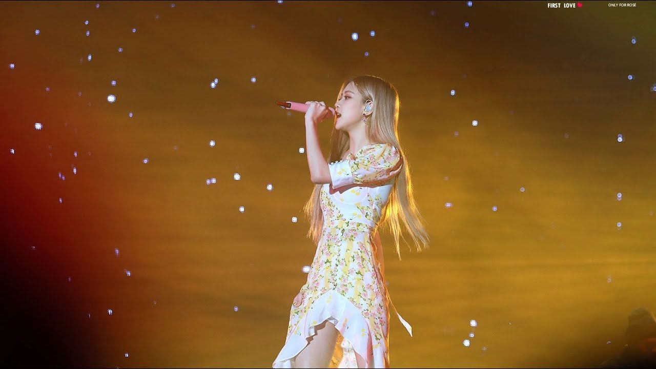 Rose Solo Performance Blackpink 2019 World Tour In Jakarta