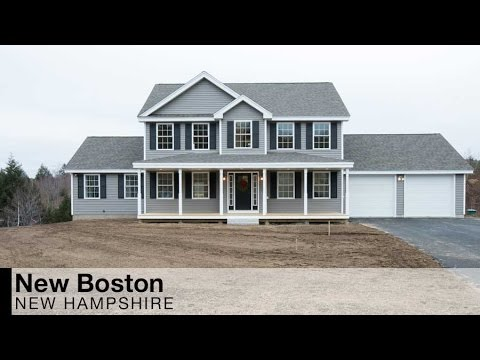 Video of new construction on wright drive new boston for New home construction nh