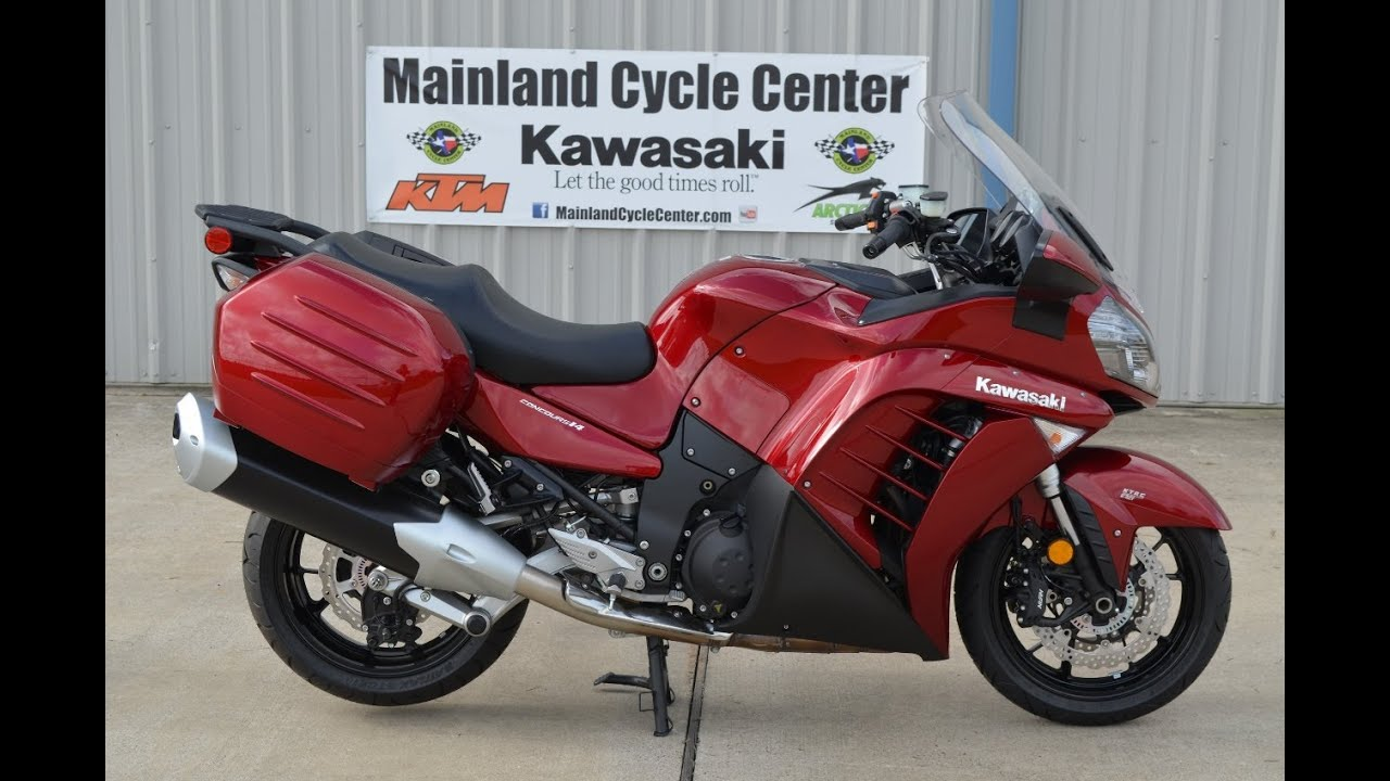 $16,199: 2014 Kawasaki Concours 14 ABS Candy Cardinal Red FOR SALE