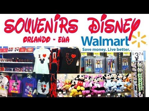 Souvenirs Disney no Walmart de Orlando