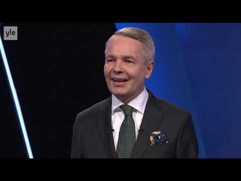 Pekka Haaviston puhe Ylen vaalitentissä