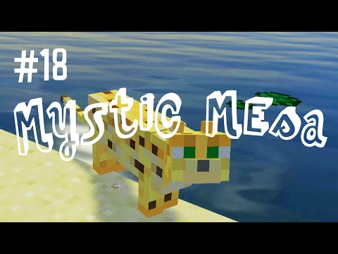 CRAZY CAT LADY - MYSTIC MESA MODDED MINECRAFT (EP.18)