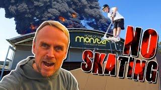 FAMOUS SKATEPARK BURNS DOWN?!