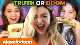 TRUTH or DOOM ft. Anna Cathcart and Peyton List! 🌟 Group Chat w/ Annie & Jayden