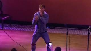 """Benjamin Ingrosso """"Dance You Off"""" live at the Wiwi Jam 2018"""