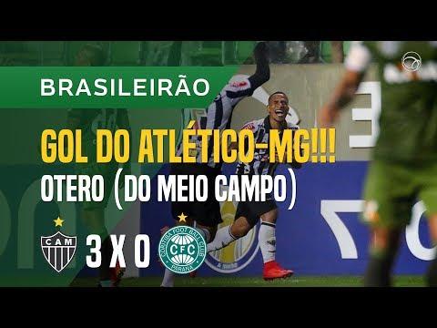 GOL (OTERO) - ATLÉTICO-MG X CORITIBA - 19/11 - BRASILEIRÃO 2017