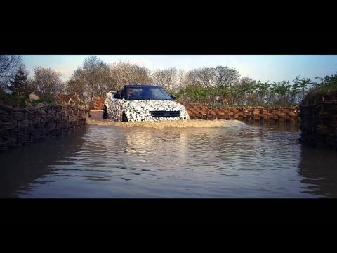 Land Rover Defender   Range Rover Evoque Cabriolet Can Wade Through  20 Inches Of Water. New Cars