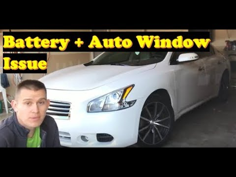 Nissan Maxima Change Battery Fix Auto Window Repair Altima Similar