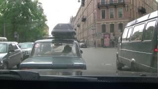 Путешествие по Санкт-Петербургу(Поставил камеру и вперед по городу и вот что получилось. По Питеру ездить нужно уметь, чтобы не попасть в..., 2013-08-28T20:26:10.000Z)