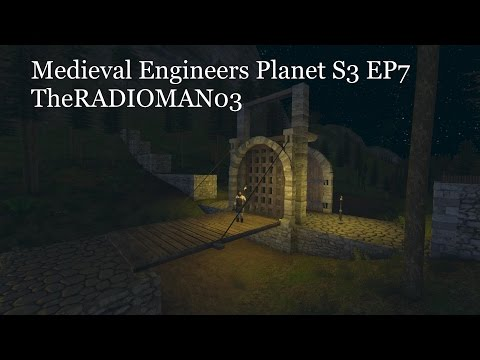 "Medieval Engineers Planet S3 EP7 ""Gate House Plans"""