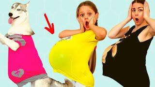 Примеры правильного поведения для детей  We ate too much