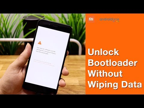 Mi A1 | Unlock the bootloader without wiping data [Android 8.0 / 8.1]