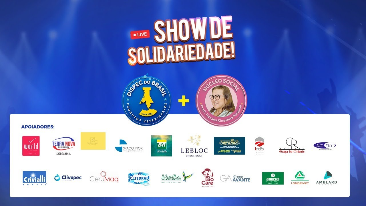 Live Teodoro e Sampaio | Dispec do Brasil | Show de Solidariedade