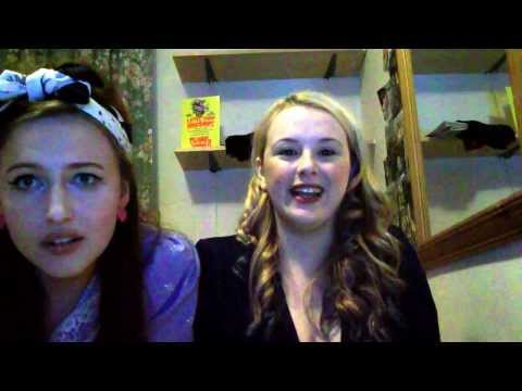 Sarah and Hollie's karaoke, what not to do with a drama degree.