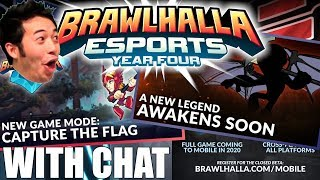 Brawlhalla BCX 2019 Reveal Stream Highlights [With Chat] (NEW LEGEND, METADEV,
