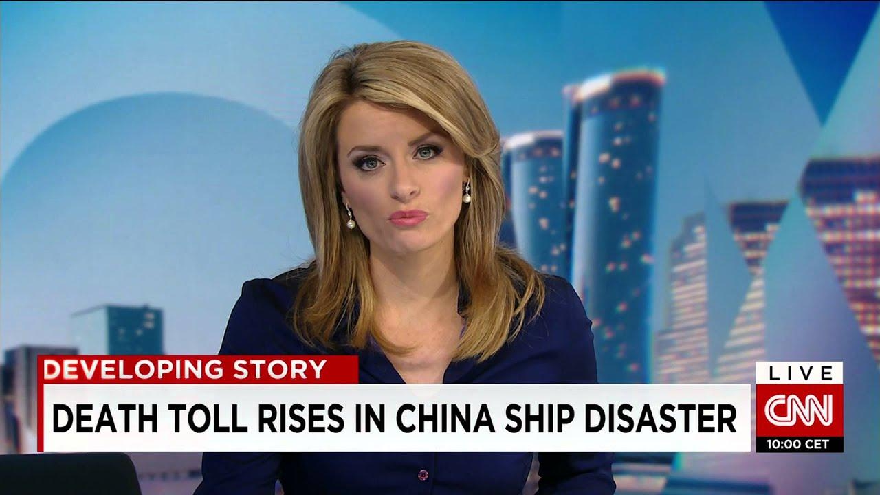 China Cruise Ship Recovered   CNN Newsroom Anchored By Lynda Kinkade    YouTube Part 14