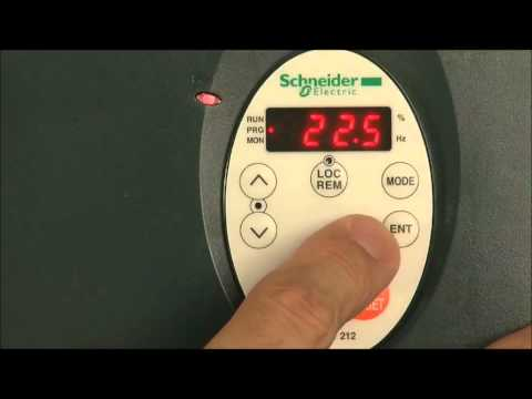 Setting Up the HVAC Variable Speed Drive (VFD) | Altivar 212 by Schneider