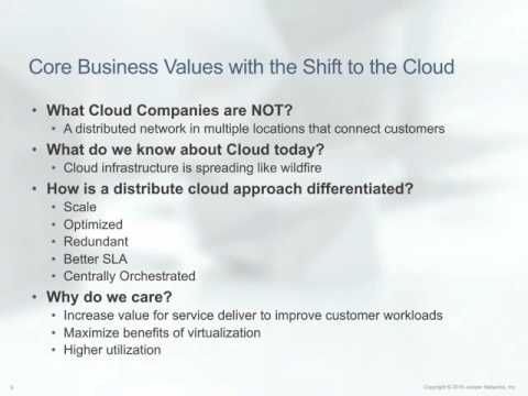 Reap the Benefits of a Distributed Cloud