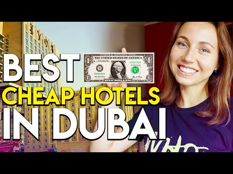 Top 5 Best Budget Hotels In Dubai under AED 400 a night.
