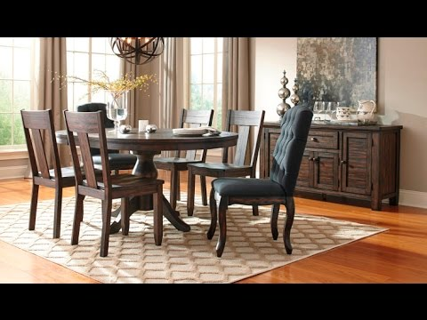 trudell dining collection (d658)ashley - youtube