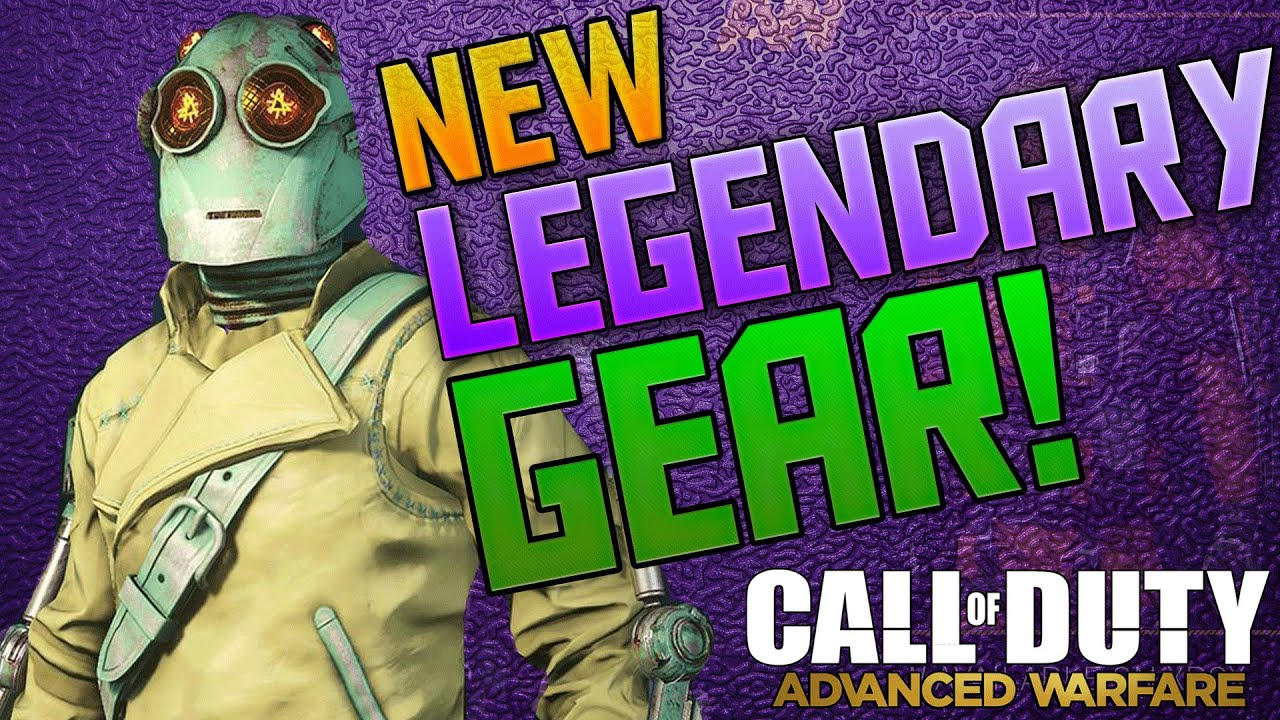 Gear set and more call of duty advanced warfare dlc gear