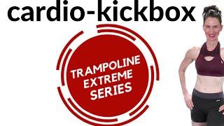 30 MIN WORKOUT |REBOUNDER CARDIO KICK BOX STYLE & UPPER BODY SCULPT | TRAMPOLINE X-TREME | AFT