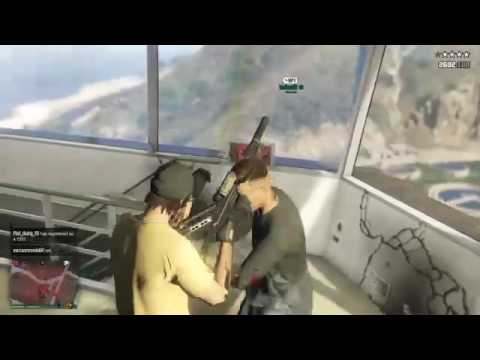 Gta Online military base raid