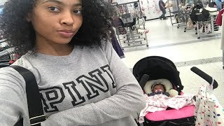 Reborn Baby Goes Shopping