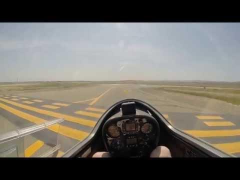 Glider Flight at Byron Airport - Uncut