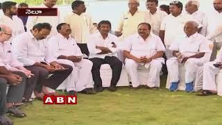Vedayapalem SI lathicharge On BJP Leader Vijay Kumar | Inside | ABN Telugu