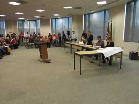 Part 1 of 4 North Valley Area Planning Commission February 7 2017 - Mitch Englander shows up