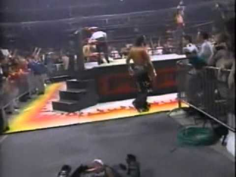 Kevin Nash & Randy Savage vs Sting & Lex Luger -  WCW Monday Nitro - 3/30/98