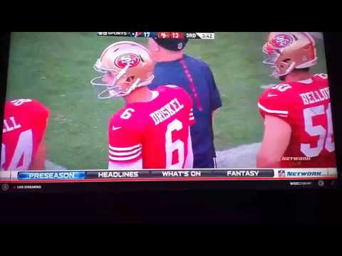 49ers vs Texans LIVE & CHAT